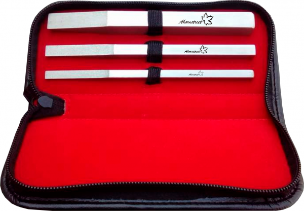 Ahornstreet Trimm-Stick 3er Set 6, 8, 13mm inkl. Tasche