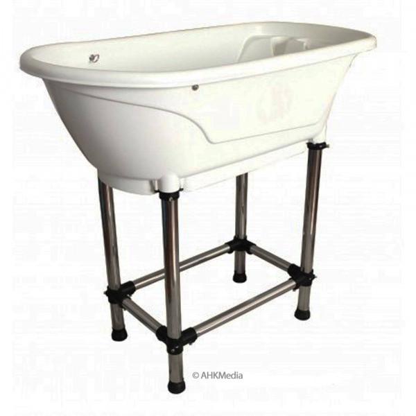 Hunde-Badewanne mit stabilen Füßen (L96xB50xH91cm)